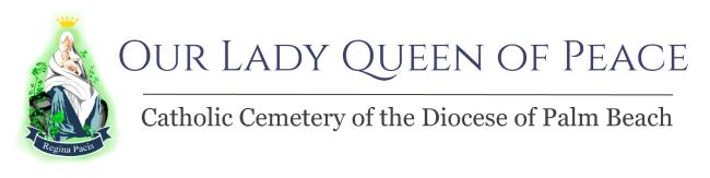 Our Lady Queen of Peace Logo